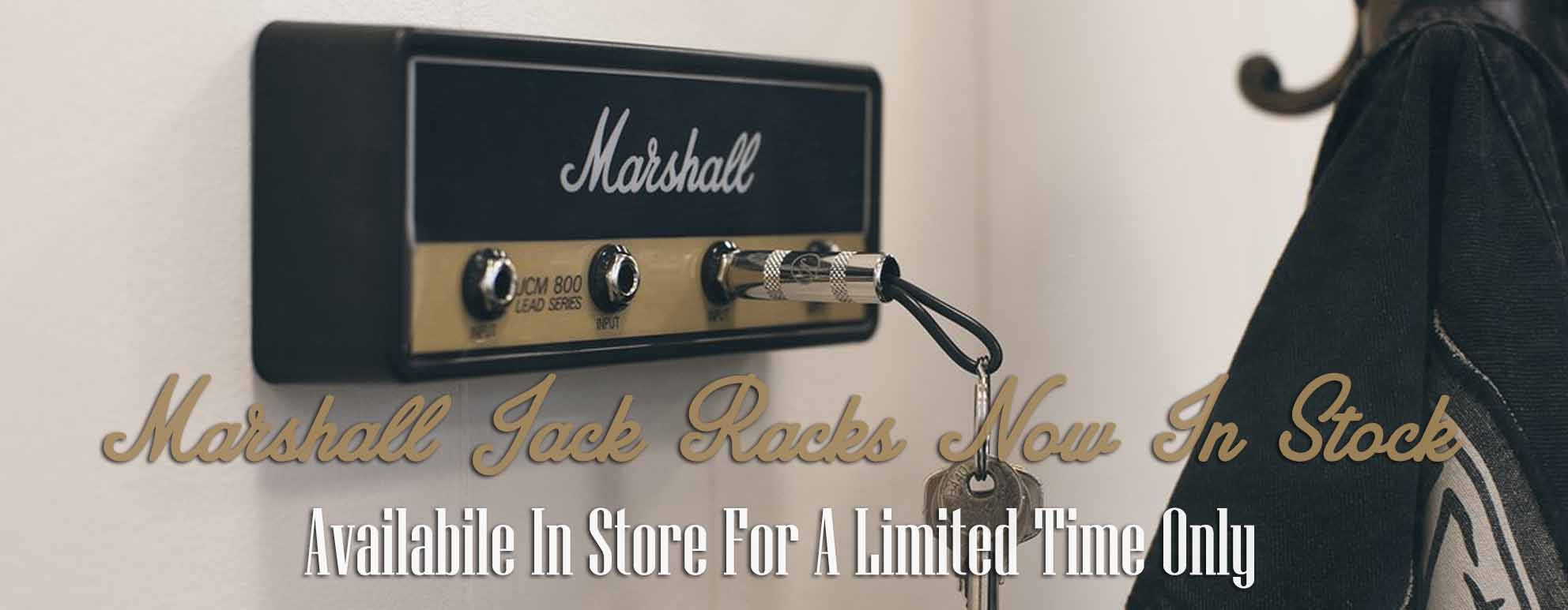Marshall Jack Racks Now In Stock - In store for a limited time!