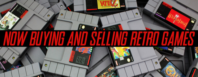 Now Buying & Selling Vintage Games