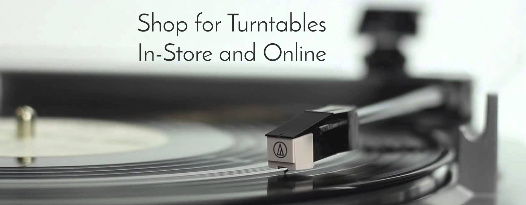 Turntables now available online!